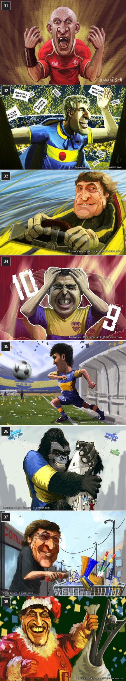 caricaturas canchallena.com