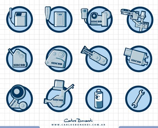 iconos ilustrados