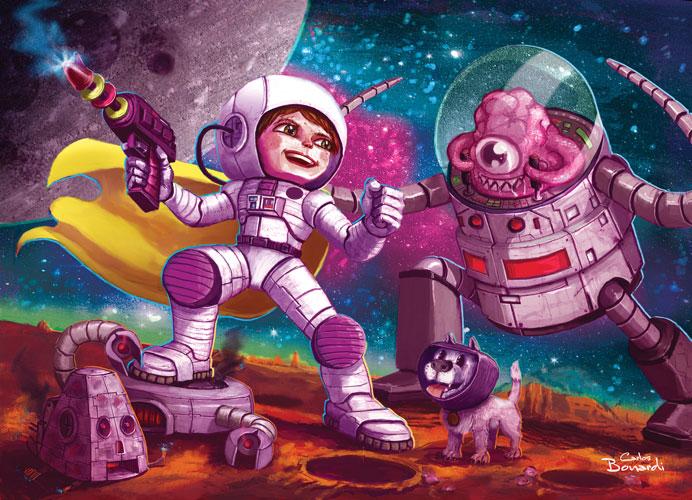 Spacer childbook